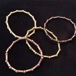 Jewelry - Set of Gold Bracelets